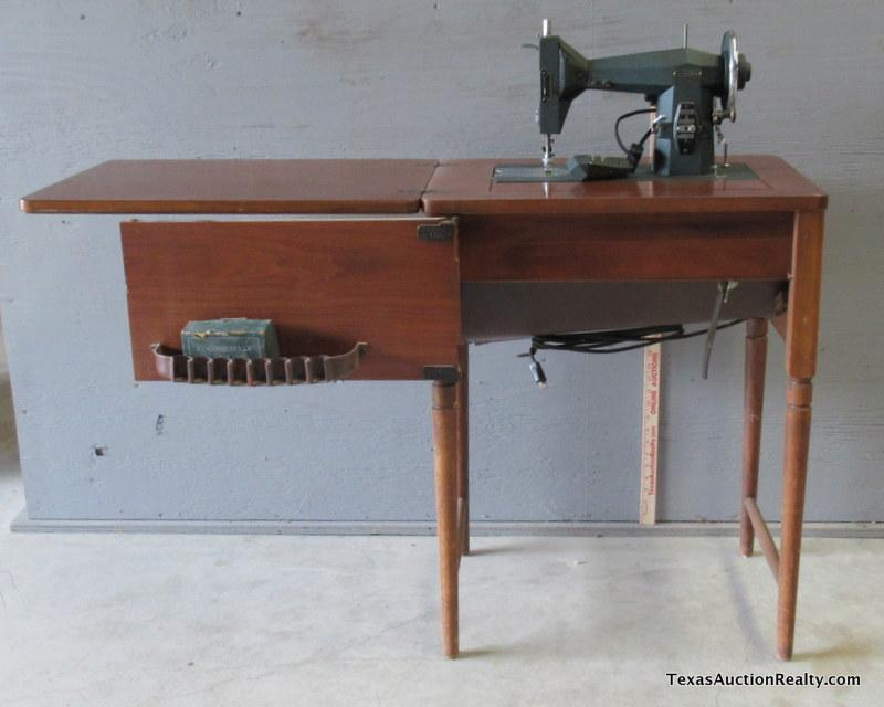 Vintage Kenmore Sewing Machine With Cabinet Interesting Kenmore Sewing Machine Vintage