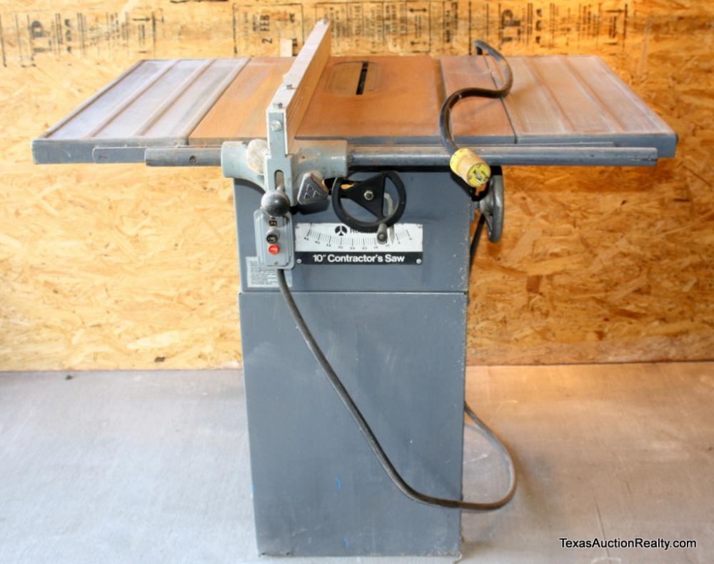 Rockwell 10 Contractor S Table Saw