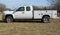 2011 Chevy 2500HD Pickup with Knapheide Work Bed