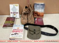 Military Books and Boots